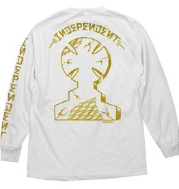 Independent Independent Dressen Monument L/S T-Shirt - White