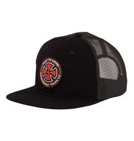 Independent Independent BTGC Trucker Mesh Hat - Black/Charcoal