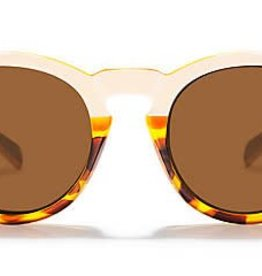 Zeal Zeal Crowley Sunglasses - Copper/Ivory Tortoise