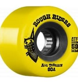 Bones Bones ATF Rough Rider Wheels 59mm Yellow (set of 4)