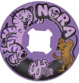 OJ Wheels OJ Insane a Thane Wheels Nora Purple 55mm 101a (set of 4)