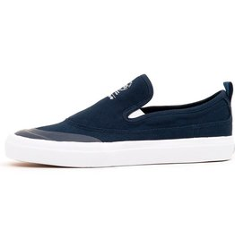 Adidas Adidas Match Court Slip On Skate Shoes - Navy/White