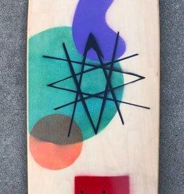 Santa Cruz Skateboards Deckcrafter Astro Cue Plus Deck 10.5 x 34 x 16.5WB