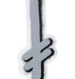 """Death Wish Deathwish Ganglogo 2 Sticker 5.50"""""""