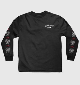Lakai Lakai x Motorhead War Pig L/S T-Shirt - Black