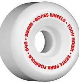 Bones Bones Wheels SPF Hawk Mini Cube Wheels 58mm - White (set of 4)