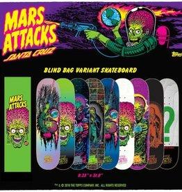 "Santa Cruz Skateboards Santa Cruz Mars Attacks 8.25"" x 31.80"" deck"