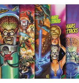 "Mob Grip Santa Cruz Mars Attacks Griptape   - 9"" x 33"" assorted"