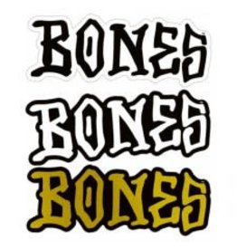"Bones Bones 5"" Sticker  - Assorted"