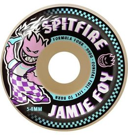 Spitfire Wheels Spitfire F4 Jamie Foy Wheels - 52mm 99a - Conical Full