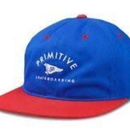 Primitive Apparel Primitive Archie Snapback Hat - Royal/Red