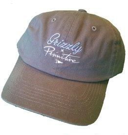 Primitive Apparel Primitive x Grizzly Logo Script Dad Hat - Dark Gray