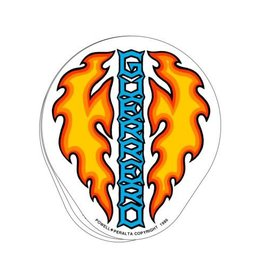 "Bones Powell Bones Brigade Sticker  - Guerrero Dagger 5.125"""