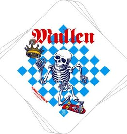 Bones Powell Bones Brigade Sticker  - Mullen Chess 4.375""