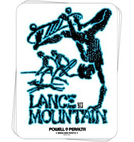 Bones Powell Bones Brigade Sticker - Mountain Future Primitive 4.375""