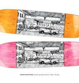 Polar Polar Skateboard Deck - Straight From The Hood - 8.25