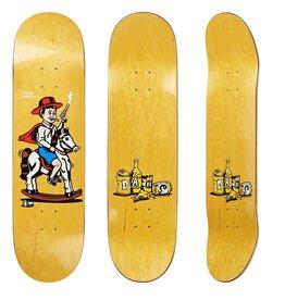 "Polar Polar Skateboard Deck - Dane Brady Cowboy - 8"""