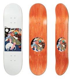 """Polar Polar Skateboard Deck - Nick Boserio Midnight Jam - 8.4"""""""