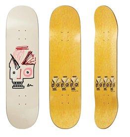 """Polar Polar Skateboard Deck - Insta Skull Pink - 8"""""""