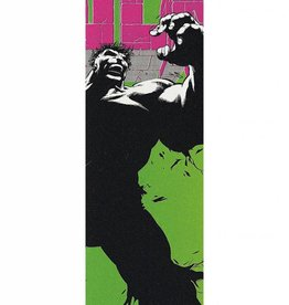 """Grizzly Grizzly Grizz x hulk Biebel Cover Griptape 9"""" x 33"""" - Multi Color"""