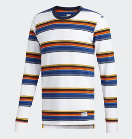 Adidas Adidas Yarn Dye Tee LS Shirt- multi color