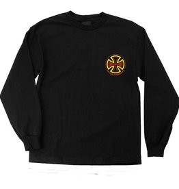 Independent Independent L/S Youth Two Tone T-Shirt - Black