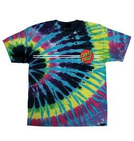 Santa Cruz Skateboards Santa Cruz Classic Dot Youth S/S T-Shirt - Tie Dye