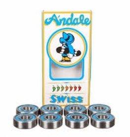 Andale Andale Bearings - Swiss Bearings (Set of 8)