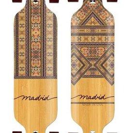 "Madrid Madrid Fabri Dream Maple 39"" Drop thru complete longboard"