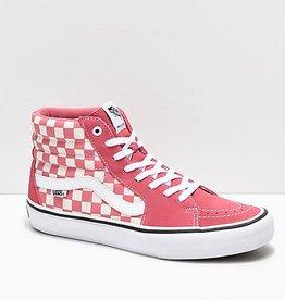 Vans Vans Sk8-Hi Pro Skate Shoes - Chkbrd/Desert Rose