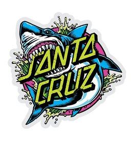 Santa Cruz Skateboards Santa Cruz Shark Dot Mylar Sticker