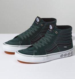 Vans Vans x Independent Sk8 Hi Pro Skate Shoes - Spruce