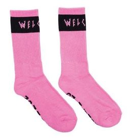 Welcome Skateboards Welcome Summon Socks - Pink/Black