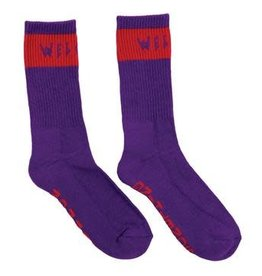 Welcome Skateboards Welcome Summon Socks - Purple/Red
