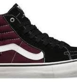 Vans Vans Sk8-Hi Pro Skate Shoes - Black/Raisin