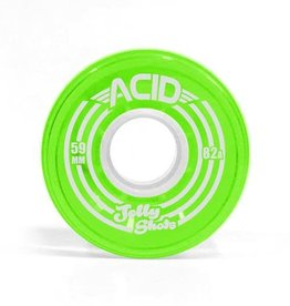 Acid Chemical Co. Acid Chemical Co. Jelly Shots Wheels 59mm 82a Green (Set of 4)