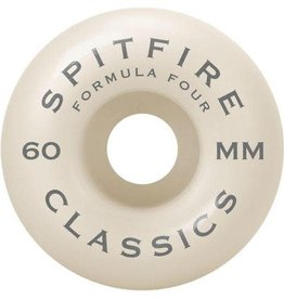 Spitfire Wheels Spitfire Wheels F4 99 Classics 60mm 99a (set of 4)