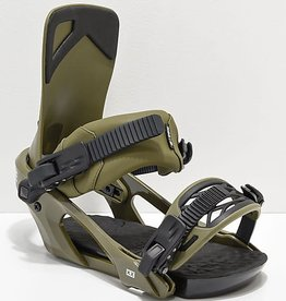 Ride Snowboard co. 2019 Ride KX Bindings - Olive