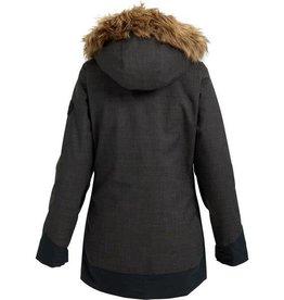 burton Snowboards 2019 Burton Women's Lelah Jacket - True Black Heather