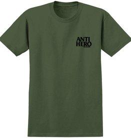Anti Hero Anti-Hero Lil Blackhero T-Shirt - Medium Green/Black