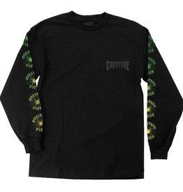 Creature Creature Fiend Web L/S T-Shirt - Black