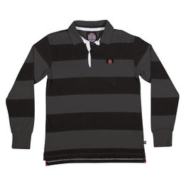 Independent Independent Scrum L/S Rugby Shirt - Grey/Black