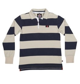 Independent Independent Scrum L/S Rugby Shirt - Grey/Navy