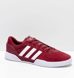 Adidas Adidas City Cup Skate Shoes - Burgundy/White