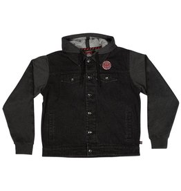 Independent Independent Drifter Hooded Jacket - Black/Charcoal Heather