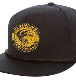 Anti Hero Anti Hero Flying Rat Snapback Hat - Black