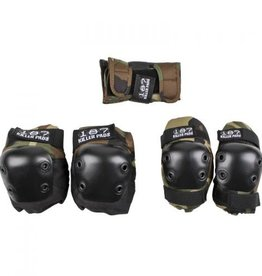 187 Killer Pads 187 Killer Pads Jr Six Pack Knee/Elbow/Wrist - Camo