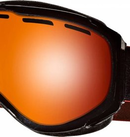 Anon Anon Hawkeye Goggles Paint Mirror - Black Emblem / Red Solex Lens