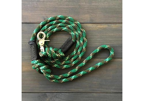 Wilderdogs Camo Puck Clip Leash 5ft