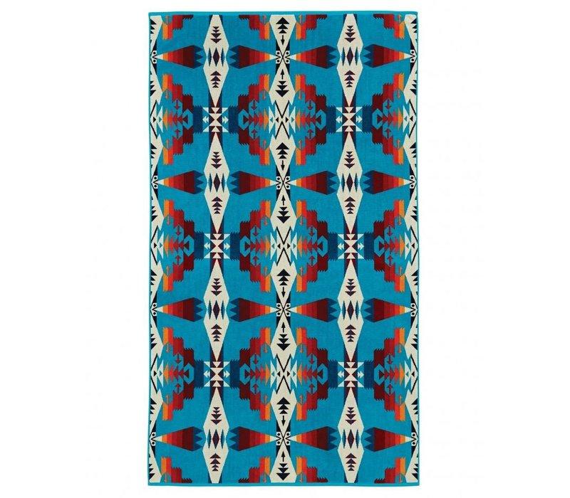 Spa Towel, Tucson/Turquoise